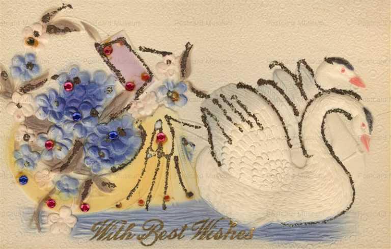 hb013-Birthday Swan