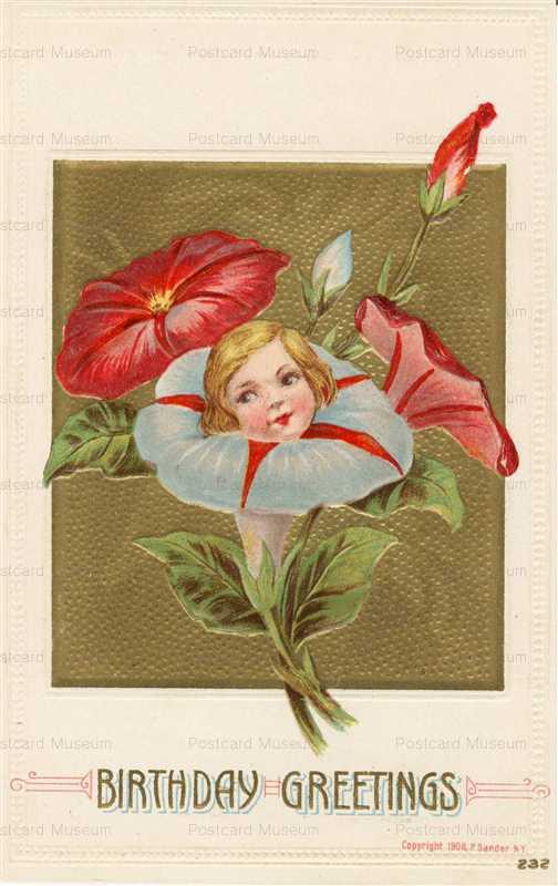 hb016-Birthday Flower Girl P Sander