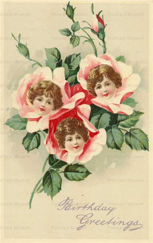 hb017-Birthday Rose Flower Girls