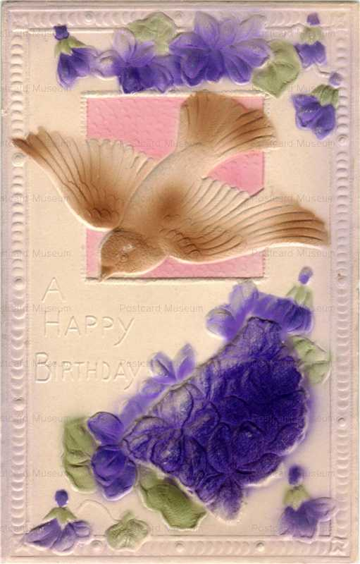 hb118-Birthday Bird