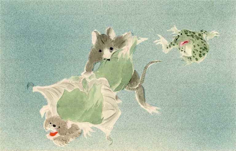 hc370-鼠蝙蝠戯画