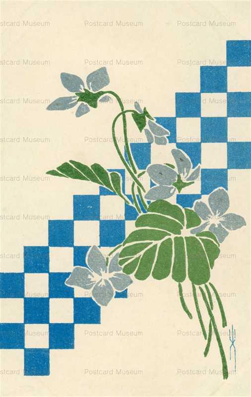 kfg214-青い花