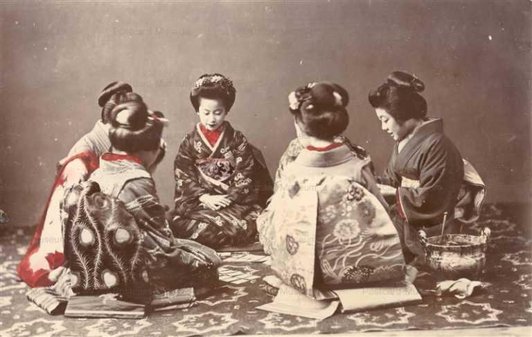 m620-舞妓六人 かるた遊び