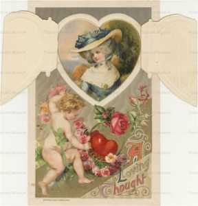 mx040-Valentine Winsch Cupid Roses Opens to Lady