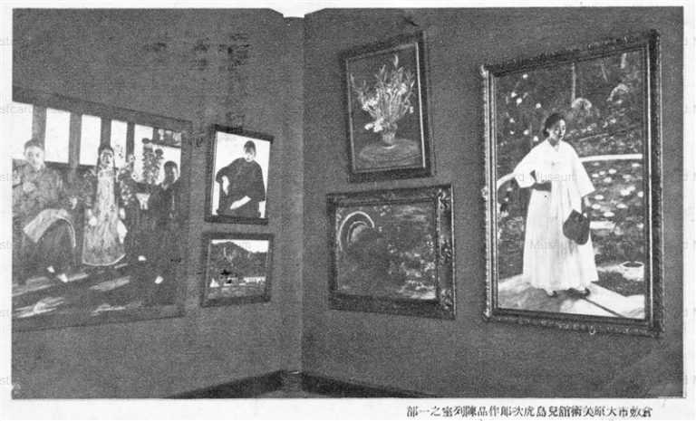 ok1040-Ohara Museum Kurashiki 倉敷市大原美術館 児島虎次郎作品陳列室之一部