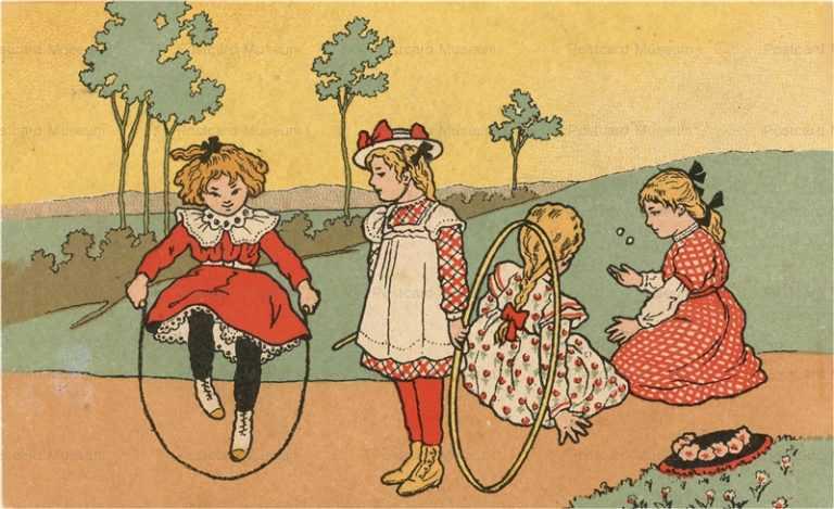 qb185-Girls Play Loops