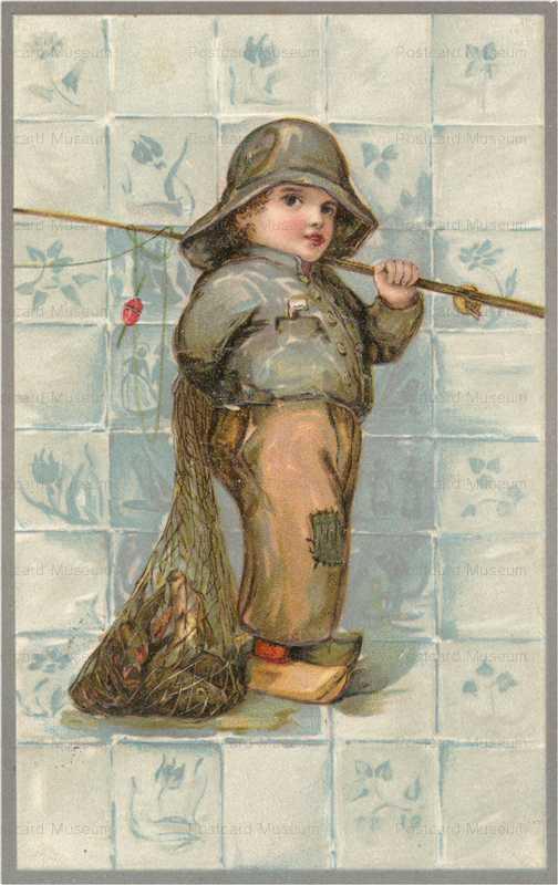 qb320-Fishing Boy