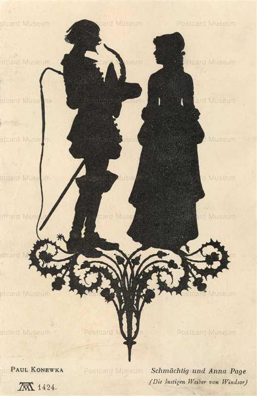 sib063-Romance Couple Schmachtig Silhouette