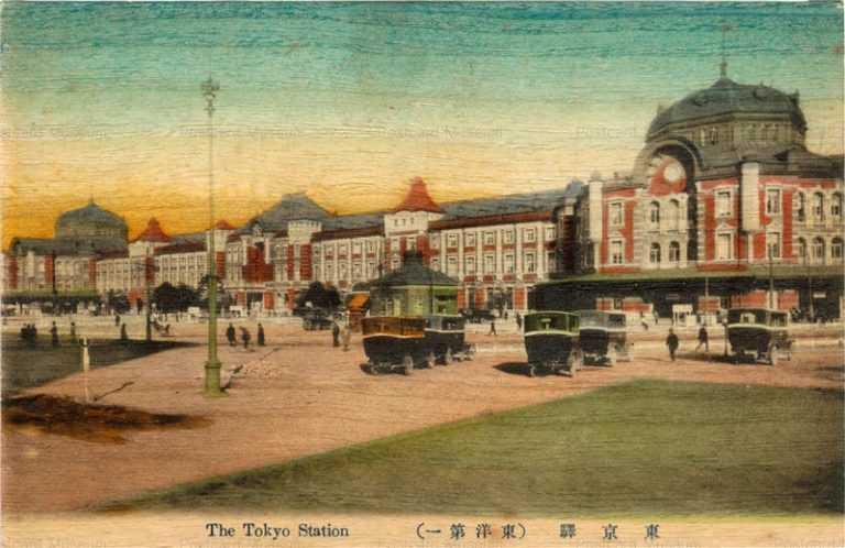 ts050-The Tokyo Station  東京駅 東洋第一