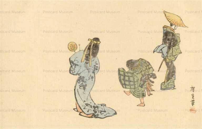 ug258-広重 念仏踊