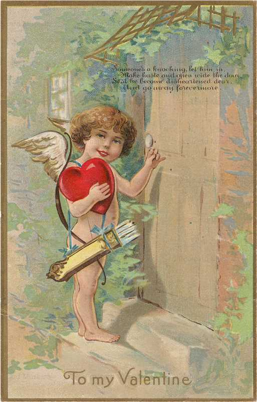 v210-Love and Valentine with Cupid