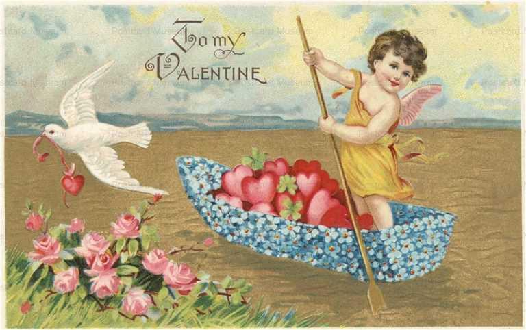 v225-Valentine Dutch Scotch Cupids
