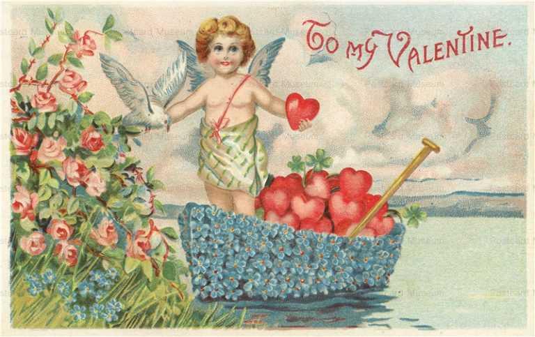 v226-Valentine Dutch Scotch Cupids