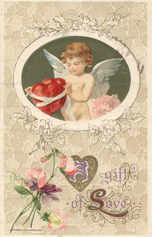 v275-Gift of Love Valentines Copyright John Winsch