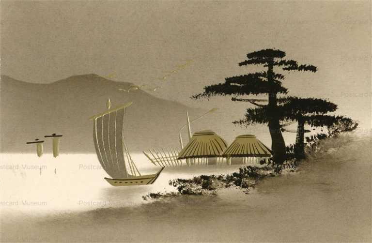 wk110-海辺の松