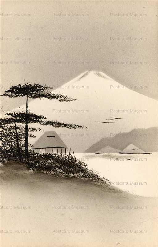 wk135-海辺 松 富士