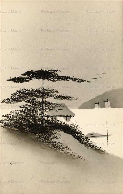 wk137-水辺の松