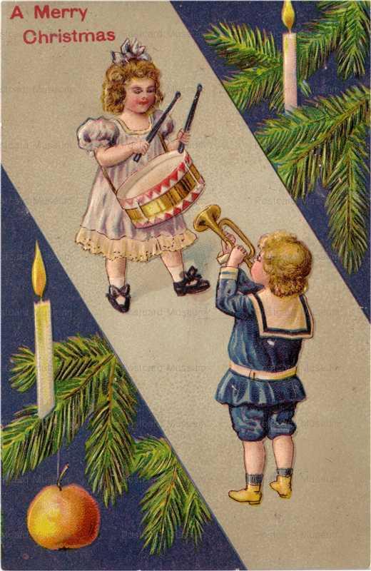 xm009-Merry Christmas Boy&Girl Band