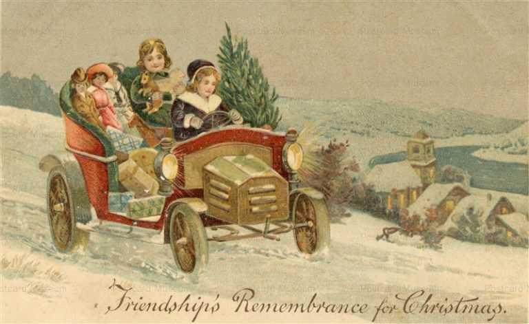 xm037-Merry Xmas Drive Car Toy