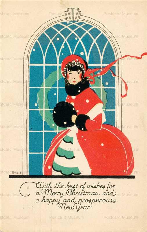 xm160-Merry Christmas Muff Girl