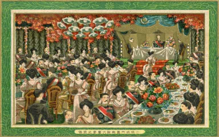 cff555-二条城内豊楽殿大饗宴之盛儀