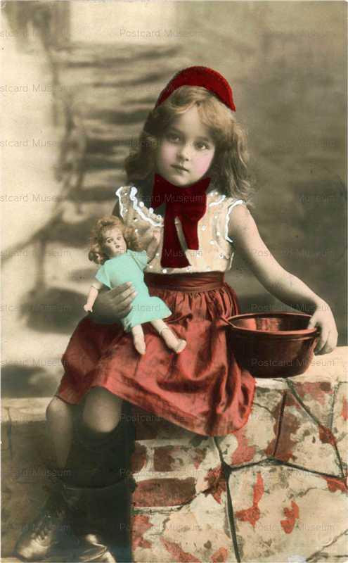 do046-Cute Girl&Doll
