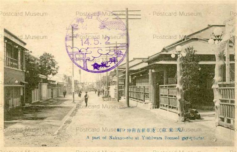 tab960-Nakano-cho Yoshiwara Licensed Gay-Quartaer 浅草新吉原仲ノ町 大東京