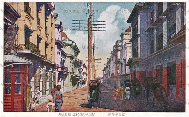 tac930-Yoshiwara Tokyo 千数百人の死傷者を出せし吉原遊郭 震災前の東京