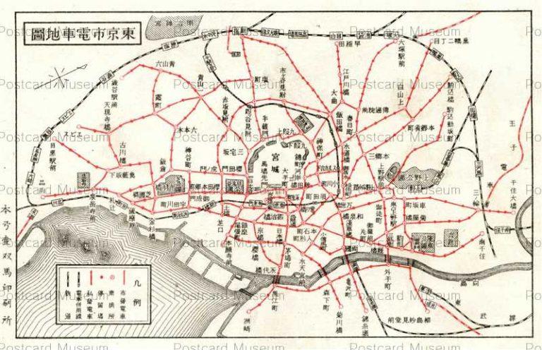地図 | 絵葉書資料館