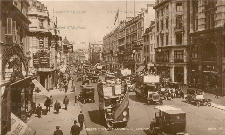 ge019-Regent Street Looking W London
