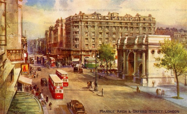ge020-Marble Arch & Oxford Street London