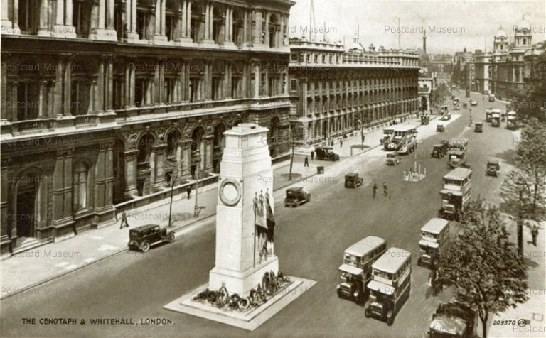 ge077-The Cenotaph & Whitehall London