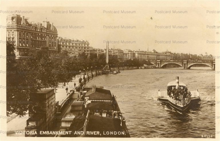 ge132-Victoria Embankment and River London