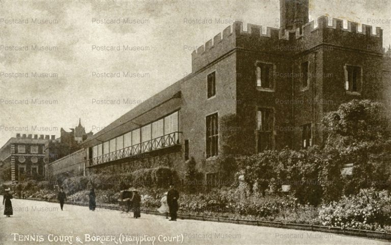 ge305-Tennis Court & Border Hampton Court