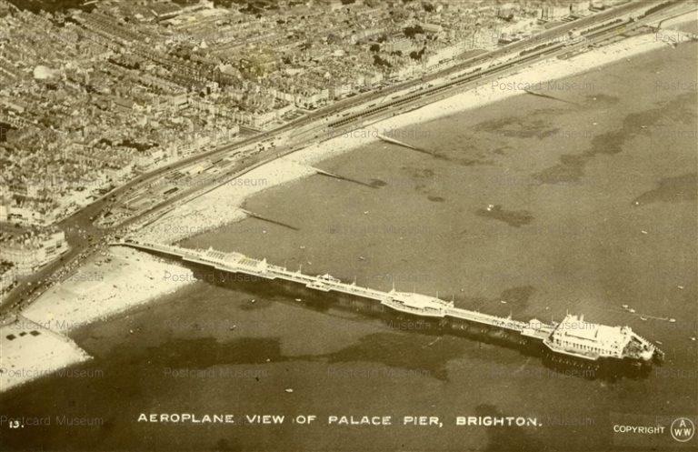ge520-Aeroplane View of Place Pier Brighton