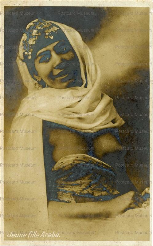 gp270-Jeune Fille Arabe