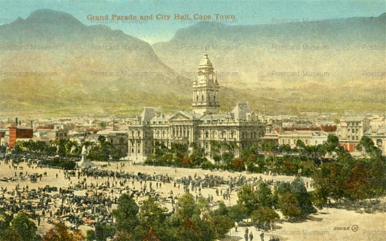 gsa019-Grand Parade and City Hall Cape Town