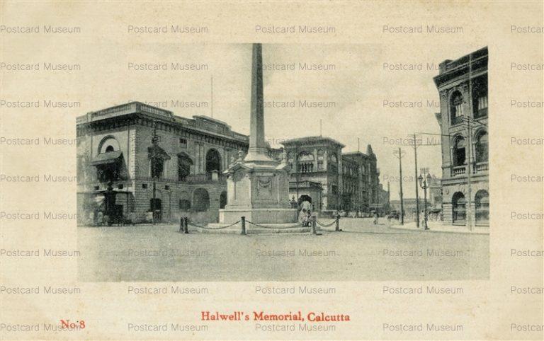 ind017-Halwell's Memorial Culcutta