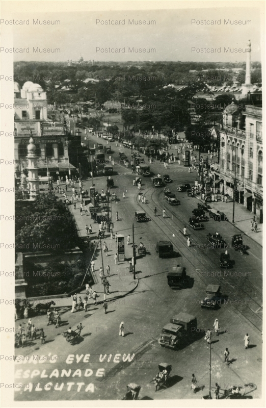ind035-Esplanade Calcutta