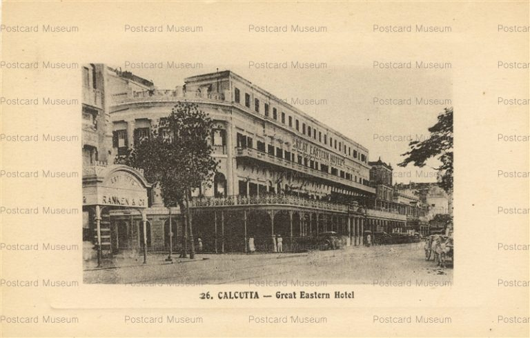 ind038-Calcutta Great Eastern Hotel
