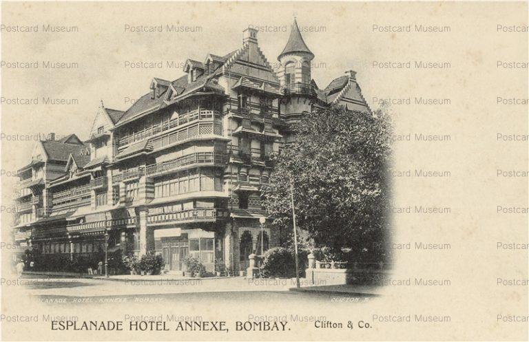 ind121-Esplanade Hotel Annexe Bombay
