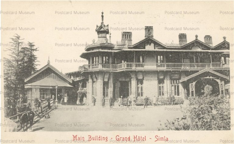 ind251-Main Building Grand Hotel Simla