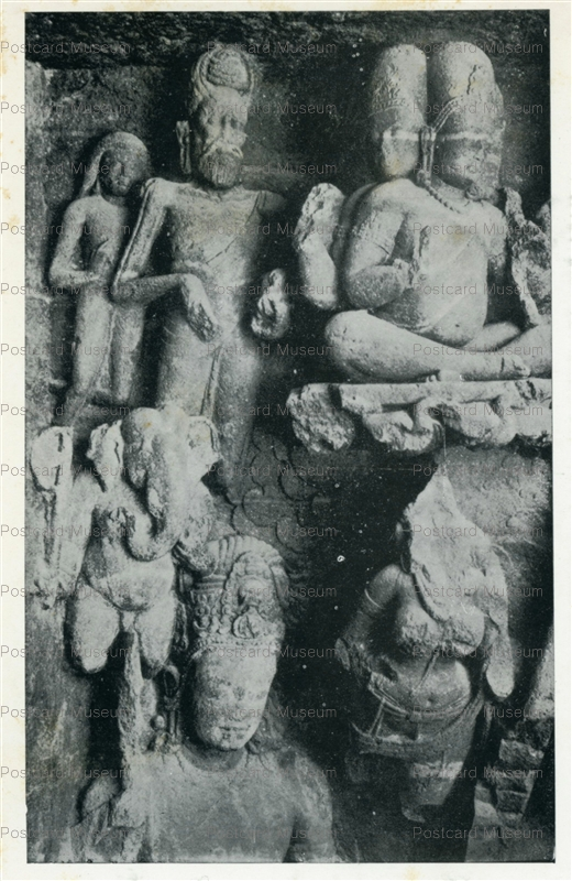 ind509-Elephanta Cave 1 Archaeological Survey of India
