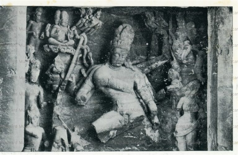 ind512-Elephanta Cave 1 Archaeological Survey of India