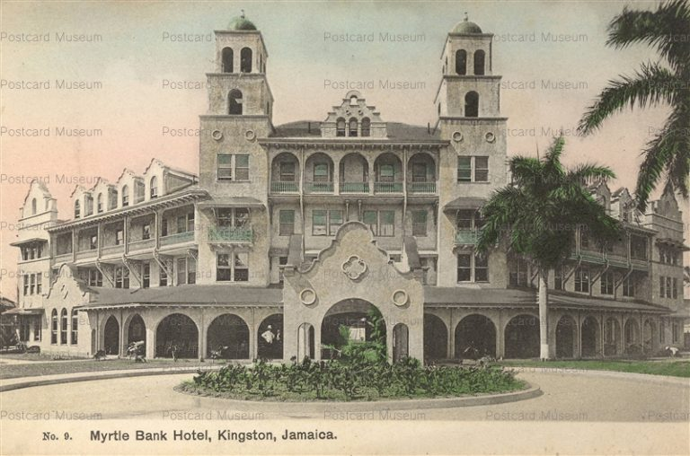 saj030-Myrtle Bank Hotel Kingston Jamaica