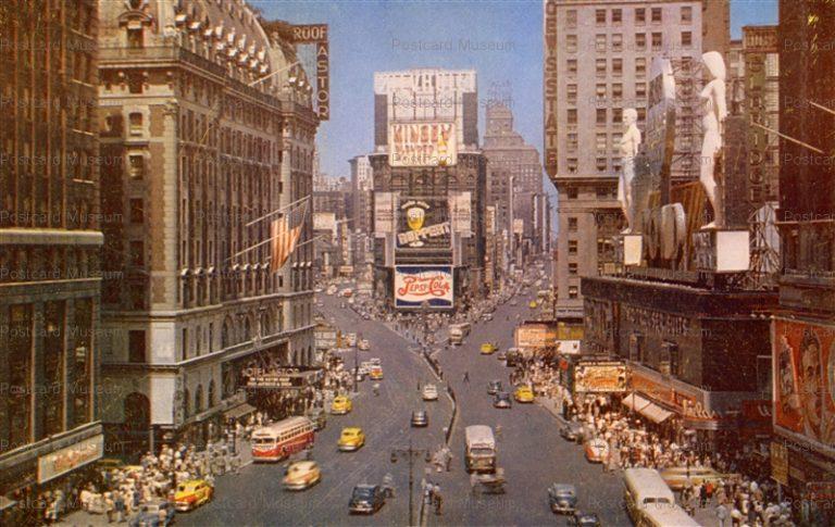 usa017-Times Square New York City