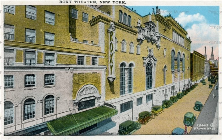 usa028-Roxy Theatre New York