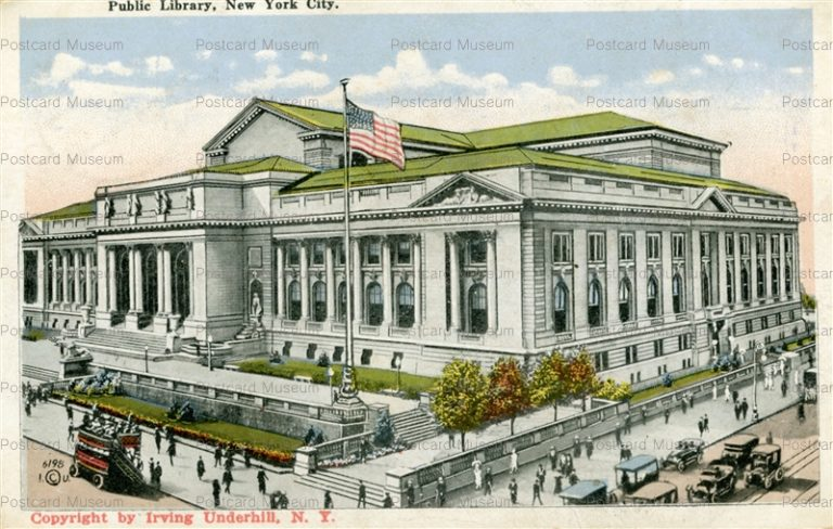 usa040-Public Library New York City