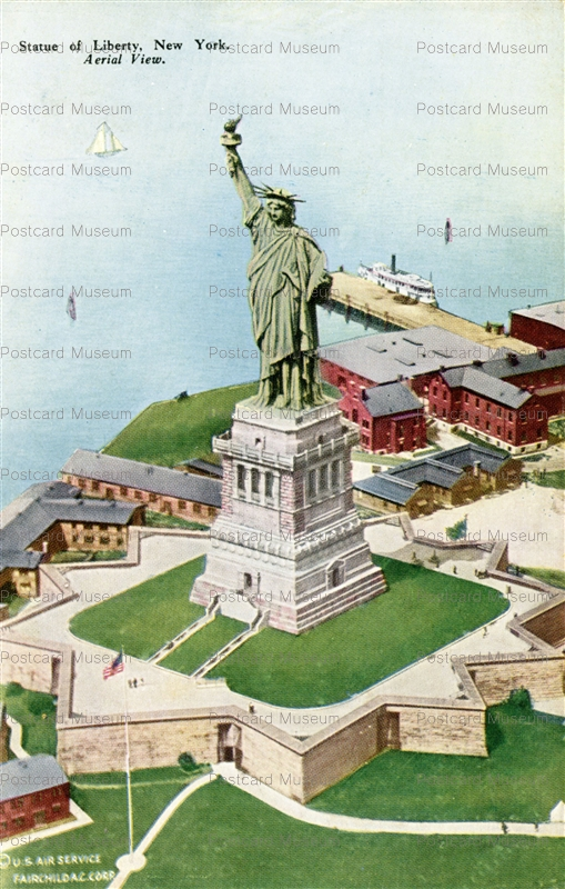 usa055-Statue of Liberty New York