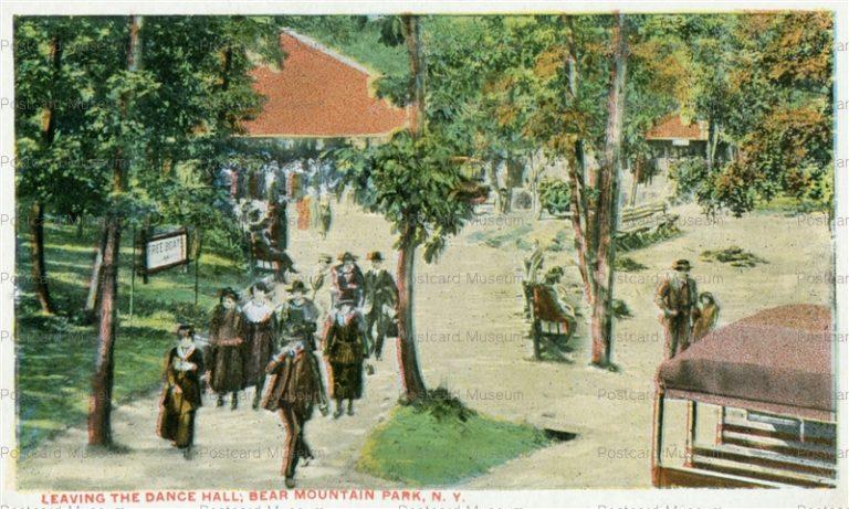 usa062-Leaving the Dance Hall Bear Mountain Park N.Y.